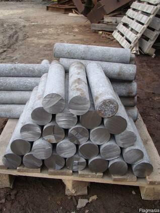 Кругляк из алюминиевых сплавов ф60мм, 70мм. 80мм, 90мм,100мм