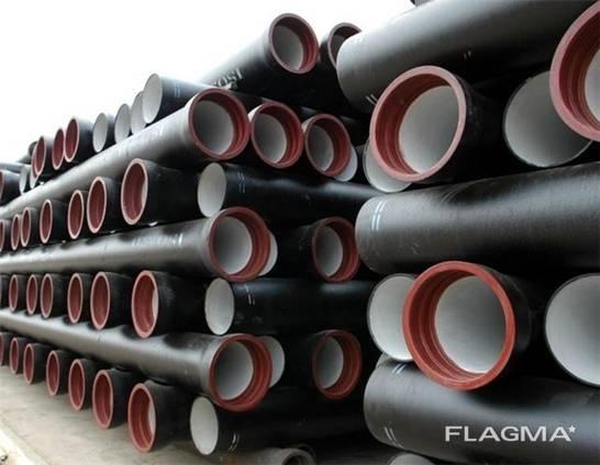 Чугунные трубы диаметром от 50-1000мм, чушки чугун, доставка