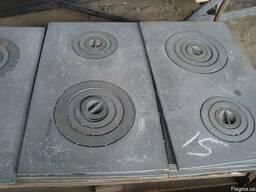 Чугунные варочные плиты