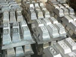 Чушка алюминиевая А0 ГОСТ 11070