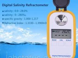 Цифровой рефрактометр DR-201 для соли (поваренной - NаCl)