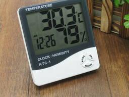 Цифровой термометр гигрометр Htc-2 с выносным датчиком. ..