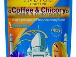 Цикорий с добавлением кофе растворимого ТМ Индиго 100 гр
