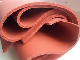 Cиликон листовой пористый 10*1000*1000мм крас.