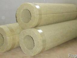 Цилиндры теплоизоляционные базальтовые собственное производс