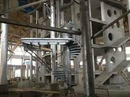 Цинкование конструкций аквапарка электродуговой металлизацие
