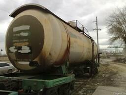 Цистерны (котлы) железнодорожные газ (пропан-бутан) 54 м3