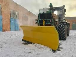 Cнегоочиститель (снегоотвал) для уборки снега 2 м на трактор МТЗ, ЮМЗ