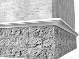 Цоколный карниз для фасада Int-Deco