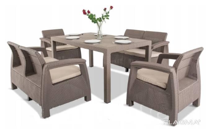 Corfu Fiesta Set мебель из искусственного ротанга