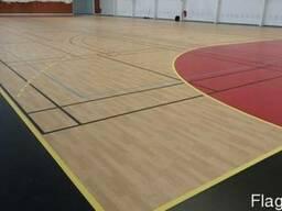 Спортивные напольные покрытия для тренажерного зала, фитнеса