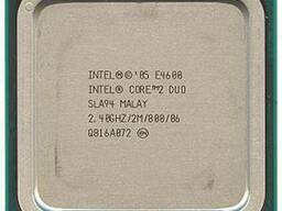 CPU: Intel Core 2 Duo Conroe E4600 2. 4GHz/2048Kb/80