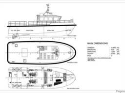 Tugboat, ice class tugboat, push tugboat, iacs class