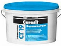"CT-19/15 кг ""Ceresit"" Грунтовка бетоконтакт 15 кг"