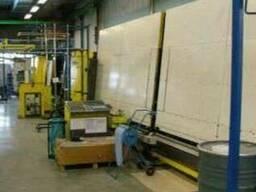 Cтеклопакетная линия Lenhardt 1600 Х 2500 с газ прессом