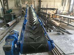 Cтрічковий шнековий конвеєр, ленточный конвейер, металоконструкції