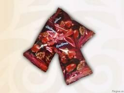 Цукерки Кизил з горіхом в шоколаді 1. 5кг