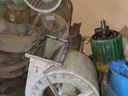 ЦВД-16/70 Вентилятор с вращающимся ротором ДВН 0, 6-4 и др. Ц