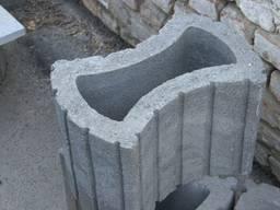Цветник бетонный, урна бетонная г. Боярка.