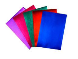 Цветной Фоамиран Металлик в наборе из 5 цветов