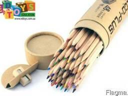 Цветные карандаши Marco в тубусе точилка 48 шт.