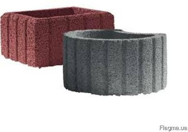Цветочница бетонная квадратная 500х400мм купить цена