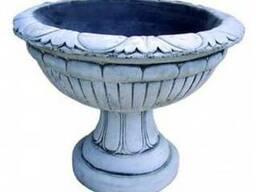 Цветочница-чаша ваза большая