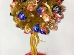 Цветочное дерево из конфет - фото 1