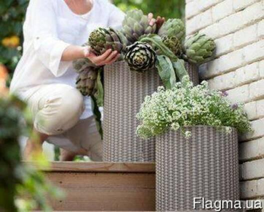 Цветочный горшок Cylinder Planters Set Allibert, Keter