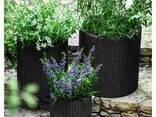 Цветочный горшок Cylinder Planters Set Allibert, Keter - фото 4