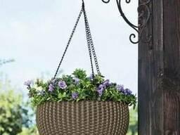 Цветочный горшок Hanging Sphere Planter