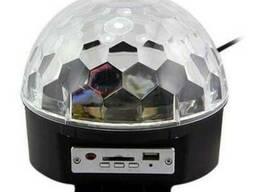 """Цветомузыкальний , световой проектор """" LED Crystal magic"""""""