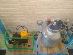 Д/а «Імпульс-Бджілка» Доїльна установка напівпрофесійної сер