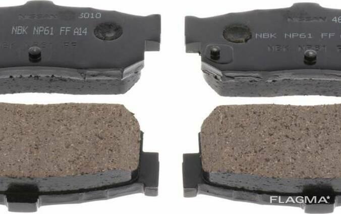 D4M60-9N00B, D4M609N00B Колодки гальмівні, комплект, задні для Nissan Juke | Teana II