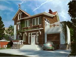 Дачный домик 31,92 м.2 стоимостью 190 у.е. за 1 м.кв.
