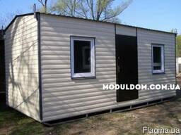 Дачный домик 6х3м - металокаркас
