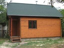 Дачный домик сборно- разборный6 Х 9 с крыльцом
