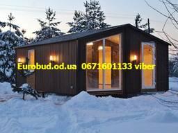 Строительство каркасных домов Евробуд Модуль Одесса