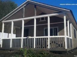 Дачные дома сборные деревянные