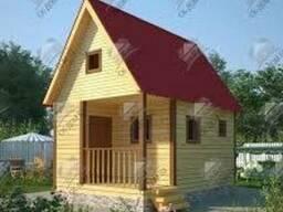 Дачные домики изготовление