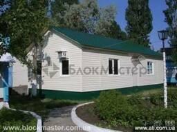 Дачные и садовые дома, домики отдыха, бытовые помещения.