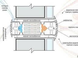 Децентрализованная прямоточная система вентиляции и энергосб