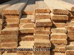 Декинг деревянный 35х130 мм длиной 4 метра