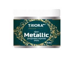 """Декоративная акриловая эмаль metallic """"Triora"""" 0, 4 кг"""
