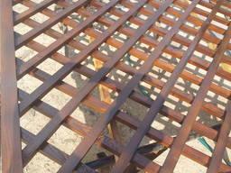 Декоративная деревянная решетка (пергола)
