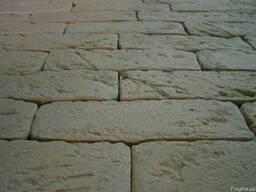 Декоративная гипсовая плитка под Клинкерный кирпич