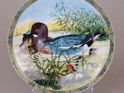 Декоративная настенная тарелка Утки 21см