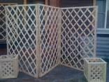Декоративная решетка на заказ, садовая решетка Киев Одесса - фото 1