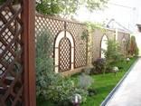 Декоративная решетка на заказ, садовая решетка Киев Одесса - фото 3
