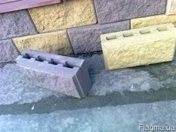 Декоративный блок для забора и стен. Доставка и выгрузка